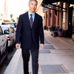 Business Man on Street — Stock Photo #5702085