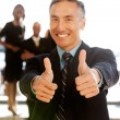 Royalty-Free Stock Photo: Two Thumbs Up