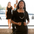Attractive African American Business Woman - Stock Photo