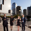 Big City Business Team — Stock Photo