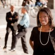 African American Business Woman - Stock Photo