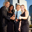 Business Team Thumbs Up — Stock Photo #5703002