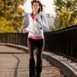 Woman Jogging — Stock Photo #5703053