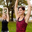 Stretching Exercise — Stock Photo #5703242