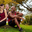 Stock Photo: Exercise Group