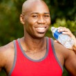 Fitness Water Bottle — Stock Photo