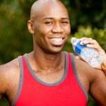 Fitness Water Bottle — Stock Photo