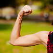 Female Bicep — Stockfoto