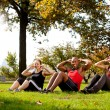 Park Exercise — Stockfoto