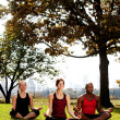 Stock Photo: Meditate City