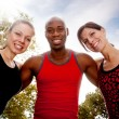 Royalty-Free Stock Photo: Fitness Friends