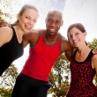 Fitness Friends — Stock Photo #5703519