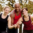 Happy Fitness — Stock Photo #5703531
