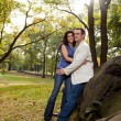 Happy Park Couple — Stock Photo #5703673