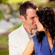 Couple Hug Kiss — Stockfoto #5703746