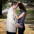 Close Couple Portrait — Stockfoto #5703772