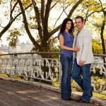 New York Couple — Stock Photo