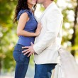 Kiss Man Woman — Stock Photo #5703847