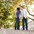 Park Kiss — Stock Photo #5703866