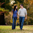 Walk Park Love — Stock Photo #5705159