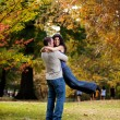 Stockfoto: Man Woman Hug