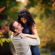 Stockfoto: Excited Man and Woman