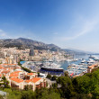 Monte Carlo Panorama - Stock Photo