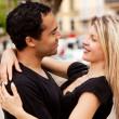 heureux couple européen — Photo