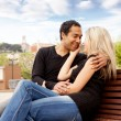 Happy French Couple — Stock Photo #5706361