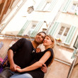 French Lifestyle Couple - Stockfoto