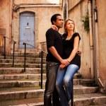 ヨーロッパの通りのカップル — ストック写真 #5706451