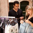 Stock Photo: Expensive Clothes Shopping