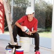 Stock Photo: House Painter
