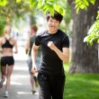 Jogging in the park — Stock Photo #5708995