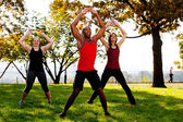 Jumping Jacks — Stock Photo