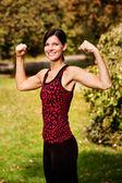 Arm Flex Fitness — Stock Photo