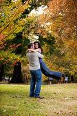 Man Woman Hug — Stock Photo