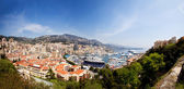 Monte Carlo Panorama — Stock Photo