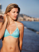 Holiday Beach Portrait — Stock Photo