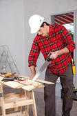 Hand Saw Wood Working — Zdjęcie stockowe