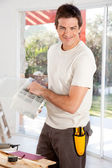 Home Improvement Man — Stock Photo