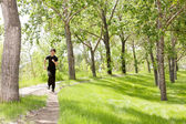 Man jogging — Stockfoto