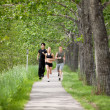 Friends jogging — Stock Photo #5710025