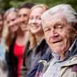 Grandfather Portrait — Stockfoto