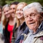 Grandfather Portrait — Stock Photo