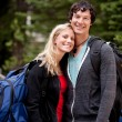 Happy Camping Couple — Stock Photo #5710580
