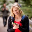Woman Text Phone — Stock Photo #5710628