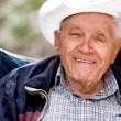 Happy Elderly Man — Stock Photo