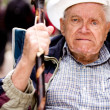 Angry Old Man - Stock Photo