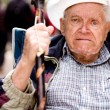 Royalty-Free Stock Photo: Angry Old Man